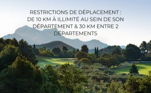 Good news! The mileage limit for golfers increases from 10 to 30 km! - Open Golf Club