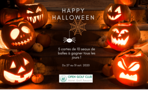 Happy Halloween ! - Open Golf Club