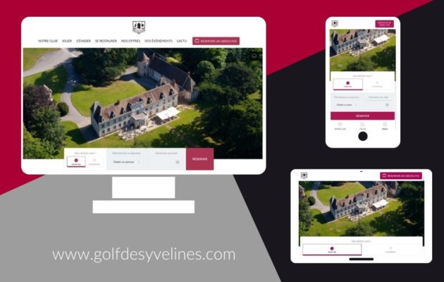 New-look Golf des Yvelines website!