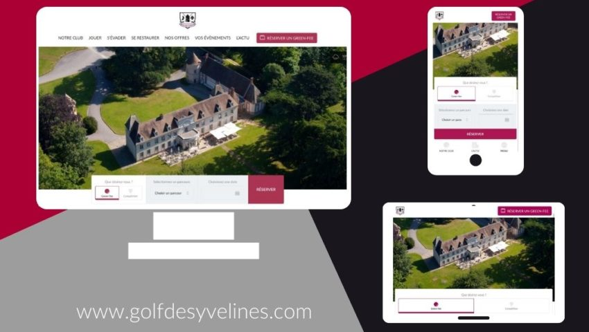 The Golf des Yvelines website has a brand new look! - Open Golf Club